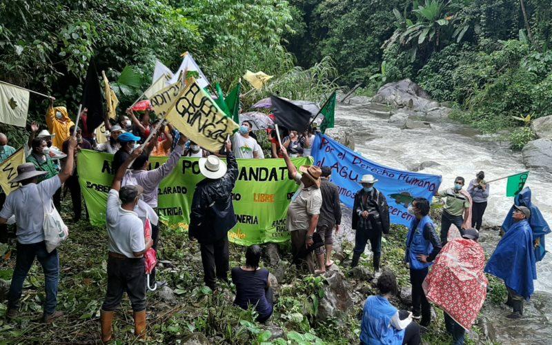 Gobierno de los Estados Unidos retira apoyo financiero al proyecto hidroeléctrico Jilamito.