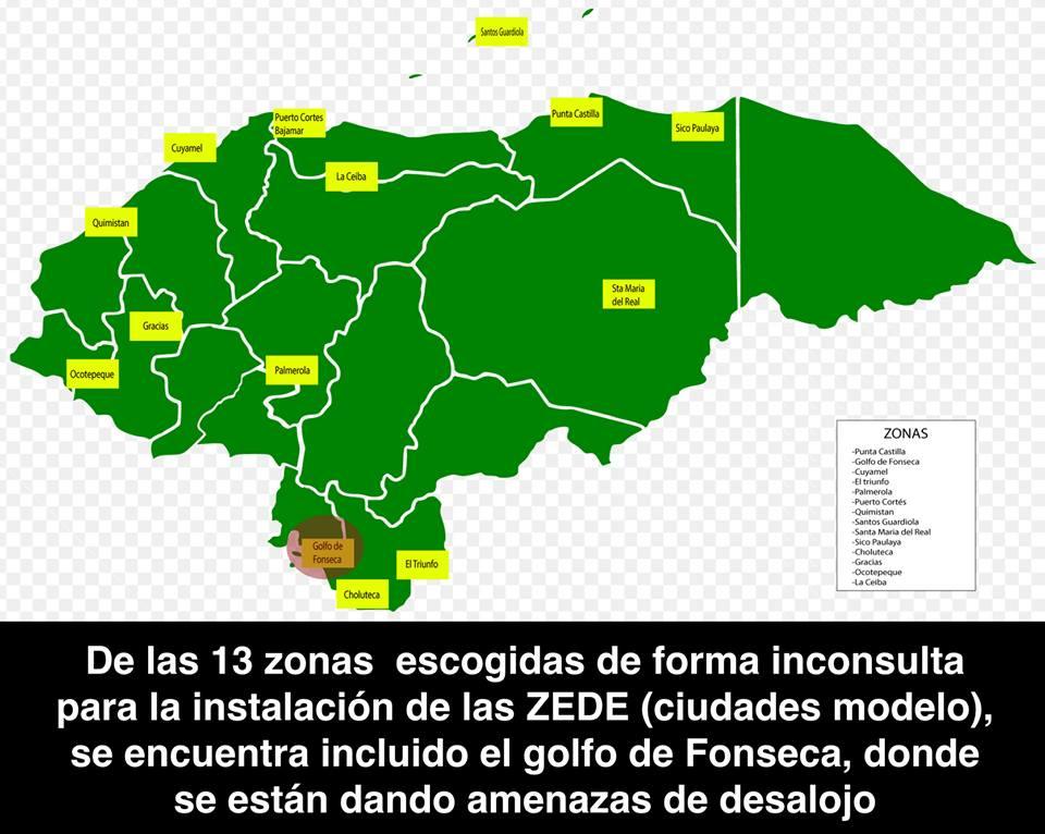 Preocupación en la ONU por los riesgos que podrían generar las ZEDE en Honduras