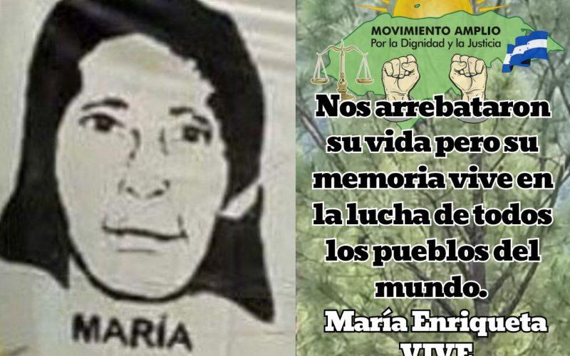 Saludamos el Día Internacional de la mujer indígena honrando la memoria de nuestra compañera Tolupán Enriqueta Matute